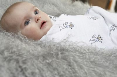 ADEN AND ANAIS SWADDLE BLANKETS MUSLIN SWADDLING