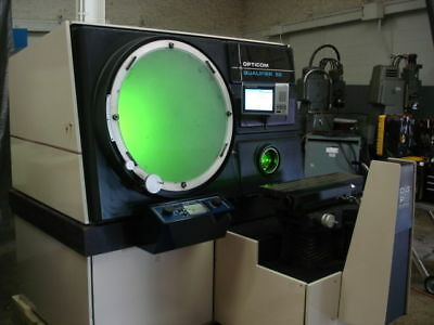 """30"""" OGP OQ-30S optical comparator refurbished with 3 lenses"""