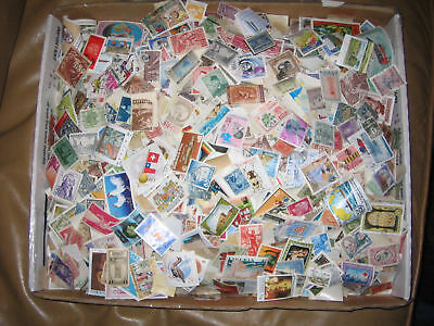 Stamps WorldWide - Box 10,000+  1870's to 1970's