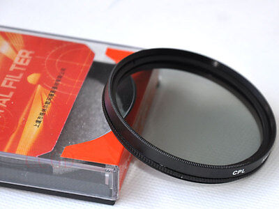 72mm Circular polarizing /polarizer filter CPL for Canon Nikon SLR Lens camera
