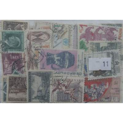 Czechoslovakia. 100 stamps. All different (11)