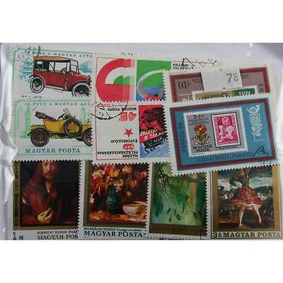 Hungary. 250 stamps. All different (78)