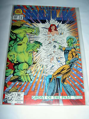 Incredible Hulk # 400. Foil Cover. Lots Of Extras. 1992