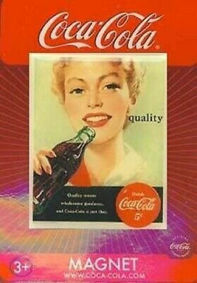 Quality Means Wholesome Goodness Coca-Cola Magnet