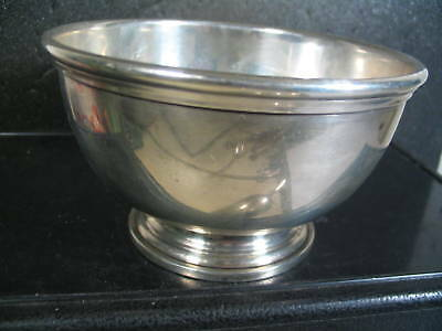 "Sterling CURRIER & ROBY FOOTED BOWL 2 1/4"" x 4"""