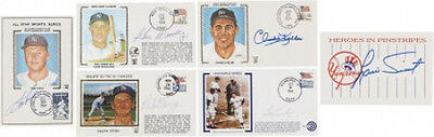 New York Yankees Stars Signed Magazines 1st Day Cover