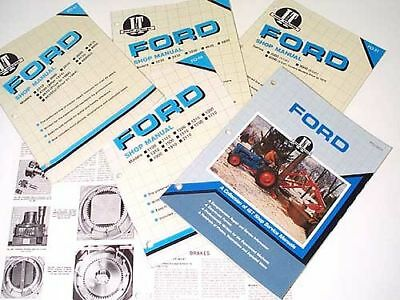 Ford Workshop Manual  5000 to 7710