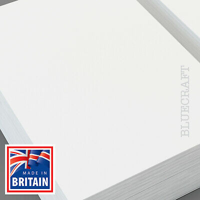 100 x A4 Diamond White Top Quality Crafts Card 300gsm