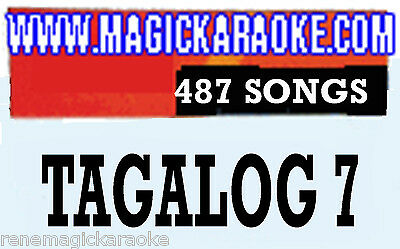 ENTERTECH MAGIC SING KARAOKE MIC Leadsinger Tagalog 7 SONG Chip