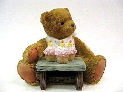 "Cherished Teddies - Age 3 "" Three Cheers For You """