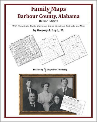 Family Maps Barbour County Alabama Genealogy AL Plat