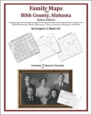 Family Maps Bibb County Alabama Genealogy Plat History