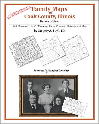 Family Maps Cook County Illinois Genealogy Plat History