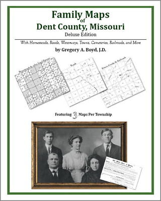 Family Maps Dent County Missouri Genealogy Plat History