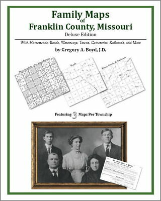 Family Maps Franklin County Missouri Genealogy MO Plat