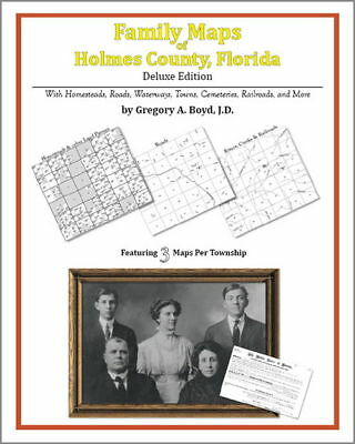 Family Maps Holmes County Florida Genealogy FL Plat