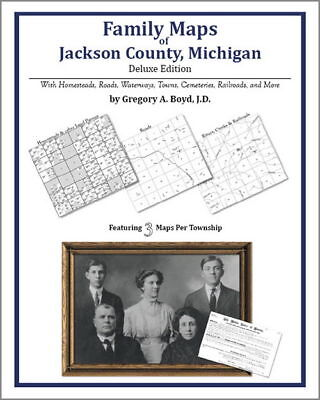 Family Maps Jackson County Michigan Genealogy MI Plat