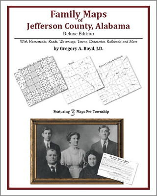Family Maps Jefferson County Alabama Genealogy AL Plat