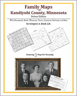 Family Maps Kandiyohi County Minnesota Genealogy Plat