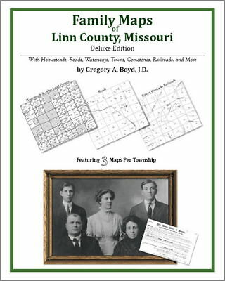 Family Maps Linn County Missouri Genealogy Plat History