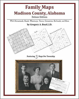 Family Maps Madison County Alabama Genealogy AL Plat