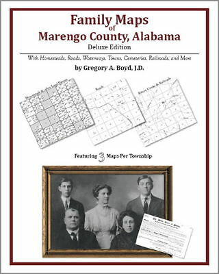 Family Maps Marengo County Alabama Genealogy AL Plat