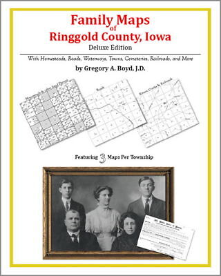 Family Maps Ringgold County Iowa Genealogy Plat History