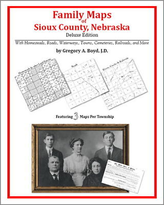 Family Maps Sioux County Nebraska Genealogy NE Plat