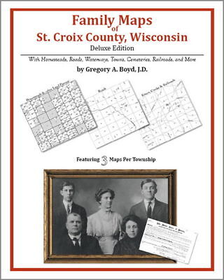 Family Maps St. Croix County Wisconsin Genealogy Plat