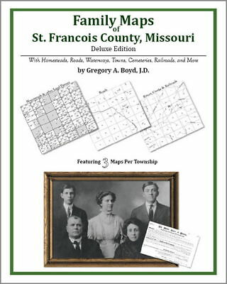 Family Maps St. Francois County Missouri Genealogy Plat