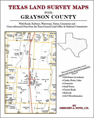 Grayson County Texas Land Survey Maps Genealogy History