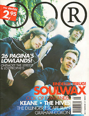 MAGAZINE OOR 2004 nr. 16 - SOULWAX / KEANE / HIVES / WILCO / LOWLANDS
