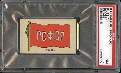 1930s R51 Flags RUSSIA PSA 7 NM