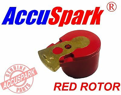 Accuspark Red Rotor Arm for Lotus with a Lucas 25D Distributor