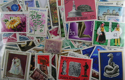 Romania. 500 stamps Mainly large (42)