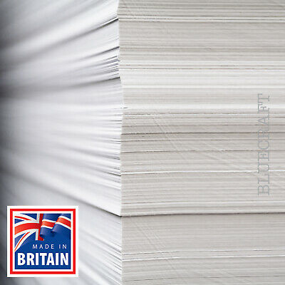 1000 x Trade A4 White Printers Craft Card 180gsm 230microns