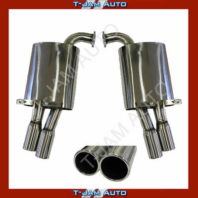 Holden Ve-Vf Commodore Twin 3 Inch Exhaust Mufflers New