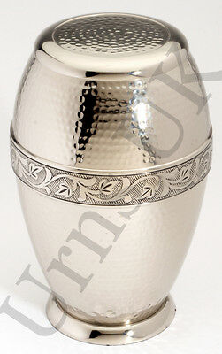 Cremation Ashes Urn Brass HAND Crafted NEW (UU100001A)