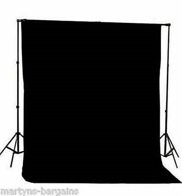 Photographers Black  Background Screen With Frame 2 x 2