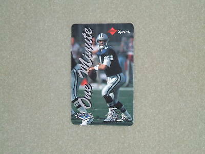 TROY AIKMAN- CLASSIC Assets/Sprint Phone Card-1994