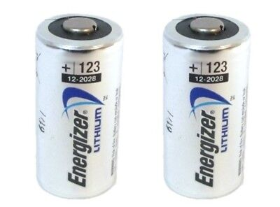 Energizer Cr123A Cr123 Cr 123 123A Lithium Battery X 2