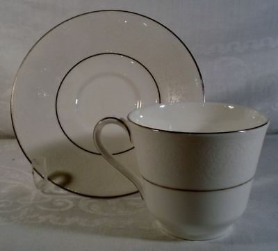 Royal Doulton Lace Point Cup and Saucer