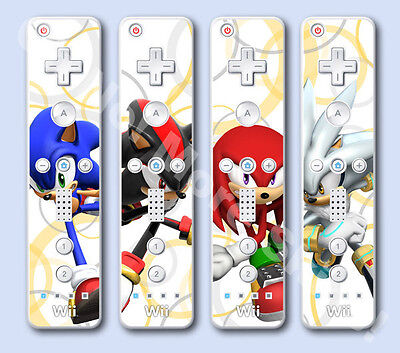 Wii Remote Wiimote Skin Vinyl Decal - Sonic Rivals
