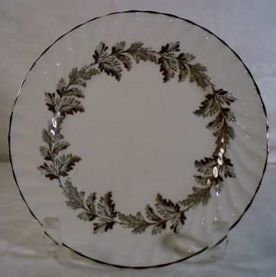 Aynsley Oak Leaf Gray 8166 Bread and Butter Plate