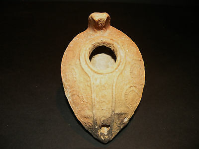 Aphrodite- Ancient Roman Oil Lamp With Decorations