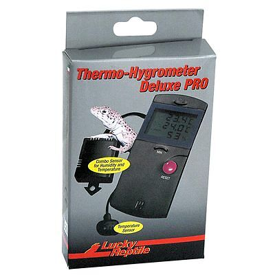 Lucky Reptile - Thermo-Hygrometer Deluxe PRO