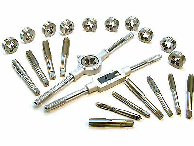 US Pro 24Piece Alloy Steel Metric Tap and Die Set