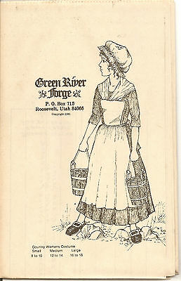 Green River Forge Country Woman's Dress Pattern