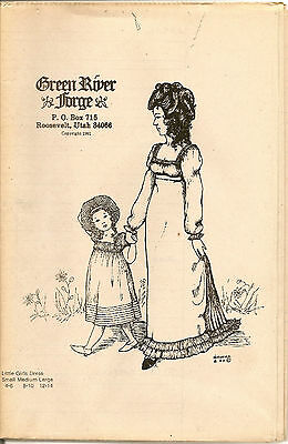 Green River Forge Little Girls Dress Pattern