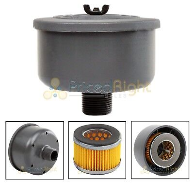 "New 3/4"" Replacement Puma Air Compressor Intake Filter and Housing"